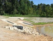 Detention, Floodplain Mitigation, & Fire Storage Pond Design and Inspection Projects