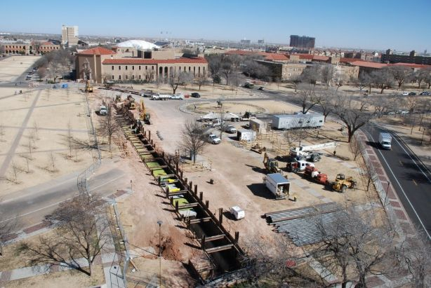 Texas Tech University – Memorial Circle Tunnel Replacement