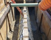 Houston Water Line Support System Design