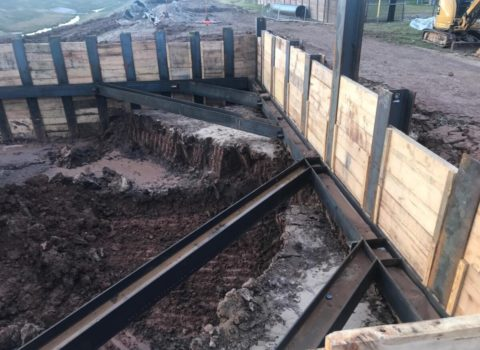 Fort Bend County Pump Station Shoring