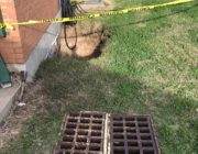 Houston Water Control and Improvement District Sinkhole