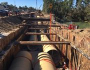 Northeast Water Purification Plant Expansion Shoring Design